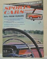 Sports Cars Illustrated February 1960 Fiats Test Compacts vs Imports