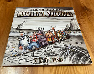 1995 Paperback Unnatural Selections: A Far Side Collection Gary Larson