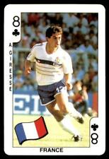 Dandy Gum World Cup 1986 - Eight of Clubs A. Giresse (France)