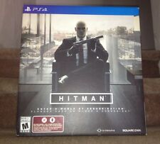 BRAND NEW Hitman: Collector's Edition PlayStation PS4 Limited Statue, Book, Tie