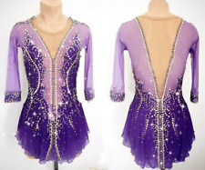 Ice skating clothes women custom figure skating dresses