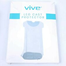 Vive Leg Cast Cover -Waterproof Cast Bag Bandage Protector for Shower, Ankle