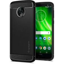 Spigen Motorola Moto G6 Plus Rugged Armor Case Black Ultimate Protection From D