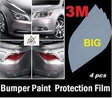 Universal DIY 3M Paint Protection Film Clear Car Bumper Edges (4 Pcs BIG).