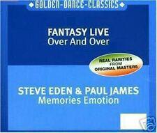 MaxiCD Fantasía Live Over And over / Steve Eden Memories