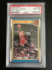 1988 Fleer Michael Jordan All Star #120 PSA 8 Nm/Mt