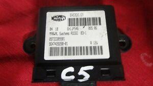 Citroen C5 Bj.06 2,0 HDI  100kW  Wegfahrsperre Kontrolle 9647428280 09733309901
