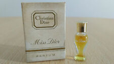 Very Rare DIOR MISS DIOR VINTAGE MINIATURE MINI PURE PARFUM 1 ml for Women