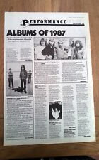 DEF LEPPARD Hysteria album review 1987 UK ARTICLE / clipping