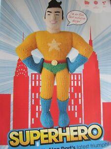 Alan Dart SUPERHERO Toy Pattern DK