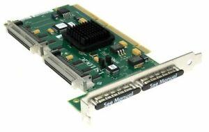 LSI LSI22320BCS-HP CONTROLLER SCSI DUAL CHANNEL ULTRA320 PCI-X GRA 19