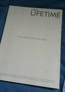 Omega Watch Lifetime Magazine 2012 The London Edition No 9 Olympic Games London