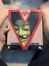 More details for v for vendetta deluxe mask official dc