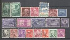 S7160 - USA 1956 - LOTTO TEMATICI DIFFERENTI DEL PERIODO - VEDI FOTO