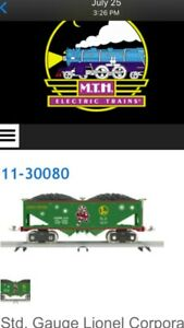 Collection Of 6 Mth/Lionel Standard Christmas Cars. See Desc. 10-2224, 11-30031,