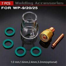 7 Stück # 12 Pyrex-Glasbecher-Kit Stubby Collets Body Gas Lens Für Wp-9/20/25