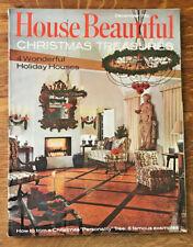 House Beautiful Magazine 1967 Christmas Trees Huygens and Tappe Turkey Recipes