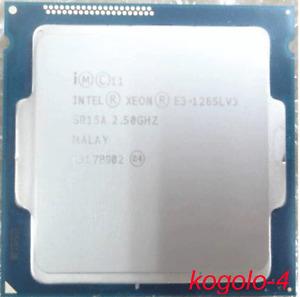 Intel Xeon e3-1265l v3 e3-1265lv3 2.5ghz 4-core 8 T sr15a lga1150 CPU processor