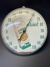"""- New 12/"""" Round Convex Thermometer Replacement Glass for Coca Cola Etc Pam"""
