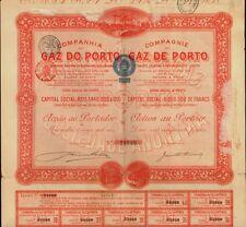 PORTUGAL : Companhia do Gaz do Porto 1906