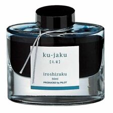 Pilot Iroshizuku (Peacock - Green/Blue) Ku-Jaku 50ml Bottled Ink
