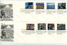 3937 To Form a More Perfect Union, set of 10 Artcraft FDCs