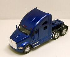Kinsmart Kenworth T700 tractor Truck Cab 1:68 scale diecast model Blue K205