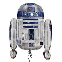 "Star Wars Birthday Party R2D2 Supershape Helium Foil Balloon 22"" x 26"""