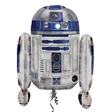 "Star Wars Birthday Party R2D2 Supershape Helium Foil Balloon 22"" x 26"""
