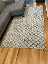 West Elm Ivory Soft Touch Rug