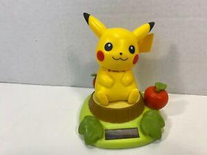 Pokemon Pikachu Sunshine Buddies Solar Bobble Head Figure Tomy 2007