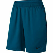 """Nike Court Dry 9"""" tennis shorts in green abyss (blue) ADULT LARGE"""