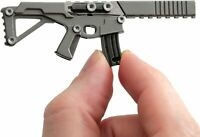 3Coil Puna Small Keychain Gun Shaped Multitool w/ Scalpel Knife Screwdriver