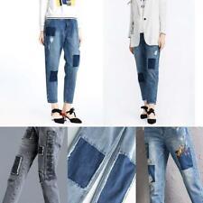 18/12pcs Iron-on Denim Cotton No Sew Clothes Jeans Repair Elbow Knee Decor Patch