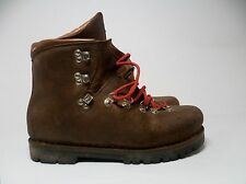 Vtg L.L. Bean Leather Italian Rock Stomper Hiking Mountaineering Boots Men's 9.5