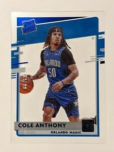 Cole Anthony RC - SSP /99 RATED ROOKIE BLUE FOIL 🔥💎 2020-21 Clearly Donruss