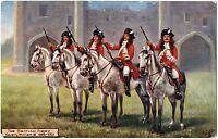 """CPA Militaria TUCK and son """"Oilette"""" 9478. The British Army. Cavalry William III"""