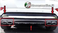Rear Bumpers Guard Protector Body Fit For hyundai tucson 2015-2017