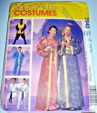 Japanese Geisha Ninja Karate Martial Arts LARP Cosplay Sewing Costume Pattern