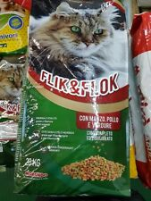 Morando Crocchette croccantini gatti gatto  - Kg 20 manzo  pollo e verdure