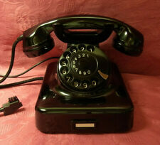 W48 Telefon Bakelit  KRONE Fernsprecher Telephone  W48 WIE NEU!