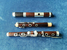 Antique Vintage Old Wooden 8 Key Irish Flute Metzler London