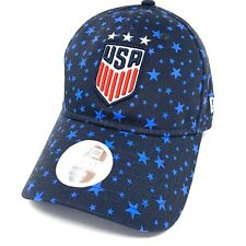 '47 Brand USA Womens Soccer Blue Stars Adjustable Strapback Hat - NWT