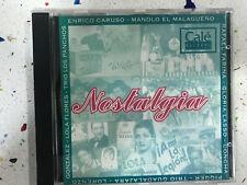 NOSTALGIA CD LOLA FLORES ENRICO CARUSO RAFAEL FARINA GLORIA LASSO CONCHA PIQUER