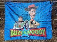 Toy Story Pillowcase Sham Buzz and Woody Blue Disney Bedding