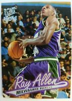 1996 96-97 Fleer Ultra Rookie Ray Allen Rookie RC #60, Bucks Heat