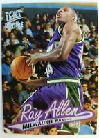 1996 96-97 Fleer Ultra Rookie Ray Allen Rookie RC #60, Bucks Heat
