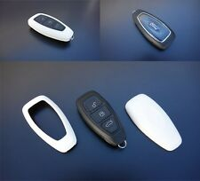 Ford Car Remote Key Cover Case Skin Shell Cap Fob Protection ABS WHITE 07-