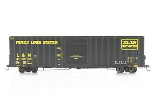 HO Athearn Genesis Family Lines System SCL 60ft Hi Cube Box Car Xlnt #410258
