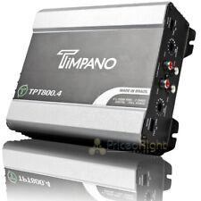 Timpano Digital Full Range Amplifier 800 Watts Max 2 Ohm Car Audio TPT800.4